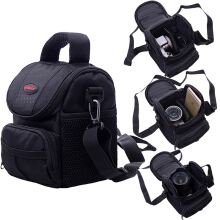 YOOHUI Camera Bag Case For Canon EOS 200D 1100D 1200D 1300D M50 M100 M10 M6 Black