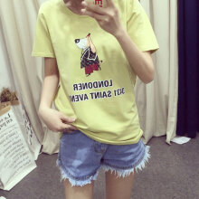Short-sleeved T-shirt Ladies Blouse