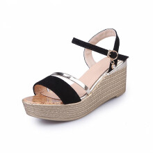 Jantens 2018 Women Sandals Fashion Excellent Quality Comfortable Czech Wedge Women Sandals