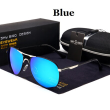 SHYBIRD Fashion Colorful Polarized Sunglasses Men Driving Riding Glasses