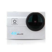 Aosen Q6H 2.0 WiFi 4K 25FPS 16MP H.264 173 Wide Lens Waterproof Action DV Sports Camera Silver  White