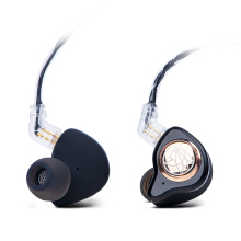 TFZ King II HiFi In Ear Monitor Earphone with Detachable Cable - Black