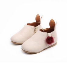 Miaolegemi  Non-slip children's shoes rabbit ears wild girls shoes