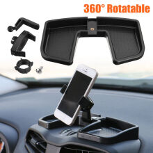 Blitzwolf Car Dash Phone 360° Rotate GPS Mobile Stand Bracket Holder w/ ABS Storage Box   -  -