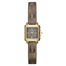 Diesel DZ5478 Ursula Ladies Grey Dial Genuine Leather Strap [DZ5478]