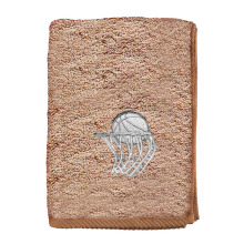 TERRY PALMER Sport Towel Basketball 40x110cm - TE3756H1-50NE4-MBW - Brown