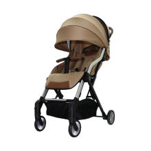 Hybrid Cabi Golden Road Kereta Dorong Bayi Gold HY-3001-GR Dark Brown