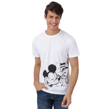 DISNEY Mickey Donald Sketch - WHite