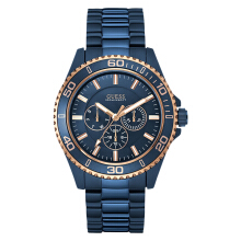 Guess Multi-Function U0172G6 Blue Dial Blue Stainless Steel Strap [U0172G6]