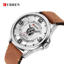 CURREN Original Watch 8305 Men's Sports Waterproof Leather Band Male Quartz Watches