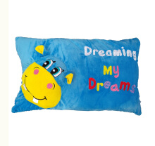 Bless Toys Bantal Timbul Dreaming My Dream Karakter Hippo Blue BTHP0002