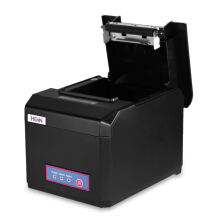 HOIN HOP - E801 80mm USB + COM + LAN Thermal Printer for POS System Black