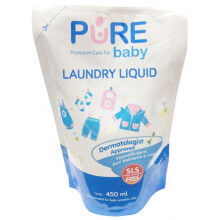 [free ongkir]Pure Baby Laundry Liquid - 450 ml