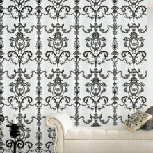 SYMPHONY II Toile Damask Black & White 82991-1 ( 1.06 x 15.60m)