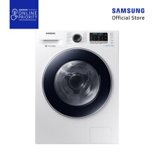 SAMSUNG MESIN CUCI FRONT LOAD WW90J54E0BW/SE 9KG [SAMSUNG ONLINE PRIORITY]