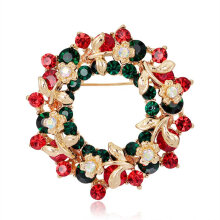 [COZIME] Creative Christmas Brooch Pin Christmas Decoration Ornaments Multicolor