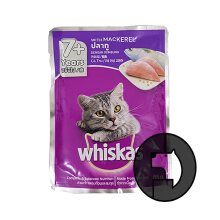 Whiskas 85 Gr Adult Senior 7 Plus Mackerel