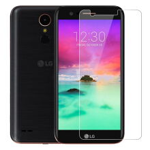 VOUNI tempered glass LG K8 2017 bubble-free transparent screen protector Transparan
