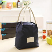 Farfi Portable Lunch Box Bag Travel Picnic Food Storage Handbag Shopping Tote