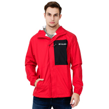 COLUMBIA Summit Sleeker Shell - Red Spark Black
