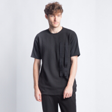 ANTHM-Ottoman Oversized T-Shirt-Black
