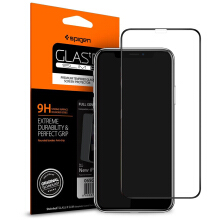 Tempered Glass iPhone XS / X Spigen Glas.tR HD Full Cover Screen Protector