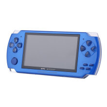 COZIME 4.3 Inch 480*272 High Speed TFT Display Hand-held Video Game Console Player Blue