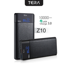 TERA Z10 Power Bank Quick Charge 3.0 10000mAh Black