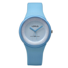 LORUS Jam Tangan - Light Blue - Silicon - RRX21FX9