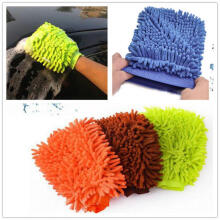 Farfi 1Pc Car Wash Washing Microfiber Chenille Mitt Auto Cleaning Glove Dust Washer as the pictures