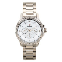 Expedition E 6698 BF BCGSL Ladies White Dial Light Gold Stainless Steel [EXF-6698-BFBCGSL]