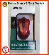 Asus Mouse USB optical - Motif Gaming - Merah