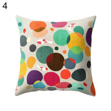 Farfi Multi-Color Cartoon Cactus Pillow Case Sofa Waist Cushion Cover Car Home Decor