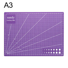 A3 Cutting Mat Cutting Underlay A3 Cutting Board Plate For Hand Form Block purple