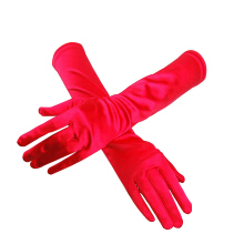 Iwinter fashion Satin Wedding Gloves Etiquette Gloves Bridal Gloves