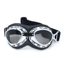 XQ-HD Vintage Sunglasses Smoke Lens Goggles For Motobiker Motocross Glasses Outdoor Eyewear -One Size -