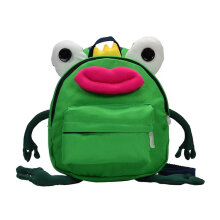 [COZIME] Funny Frog Shape Children Backpack Unisex Anti-lost Children School Bag Others1