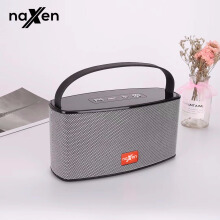 Naxen Bluetooth Speakers High Power Stereo Music Sound Wireless Loudspeakers Support FM Radio(BT-HDY-G22)