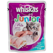 WHISKAS 85 gr kitten tuna
