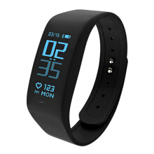 PEKY B5 Smart Wear Smart Bracelet Smart Watch Support Dynamic Heart Rate Monitoring Pedometer Fitness Tracker Ip68 Colorful LCD Black