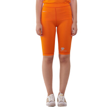 Tiento Baselayer Compression Celana Selutut Ketat Half Pants Legging Olahraga Orange