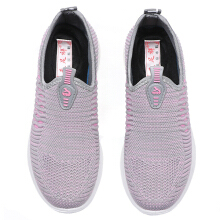 Zanzea Knitting Breathable Trainers For Women Red 39
