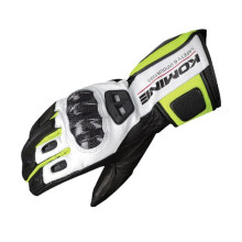 KOMINE GK-198 Carbon Protect Racing Sarung Tangan Original - Black Neon
