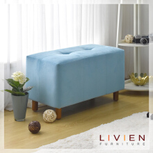 LIVIEN  Tubies Bench Sofa Blue - Kursi - Bangku - Furniture
