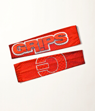 GRIPS SLEEVES RED DRAGON - Red