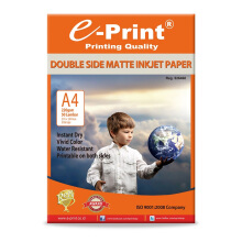 E-PRINT Double Side Matte Inkjet Photo Paper A4 220gsm 50 Sheets