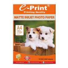 E-PRINT Inkjet Photo Paper A4 108gsm 100 Sheets