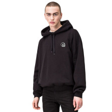 CHEAP MONDAY Goal hood  0553184 - Black