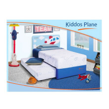 GOOD DREAMS Kids Series Mattrass Full Set - Kiddos Plane / 100 x 200 cm