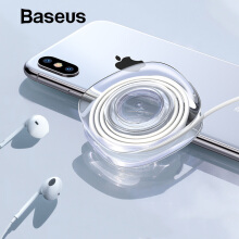Baseus Universal Phone Holder for Car Mobile Phone Stand Strong Adsorption Gel Pad Desk Wall Sticker Paste Tablet Holder Stand - TRANSPARENT